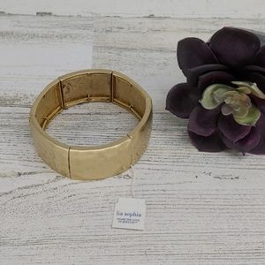 Lia Sopia New Gold Chunky Stretch Bracelet